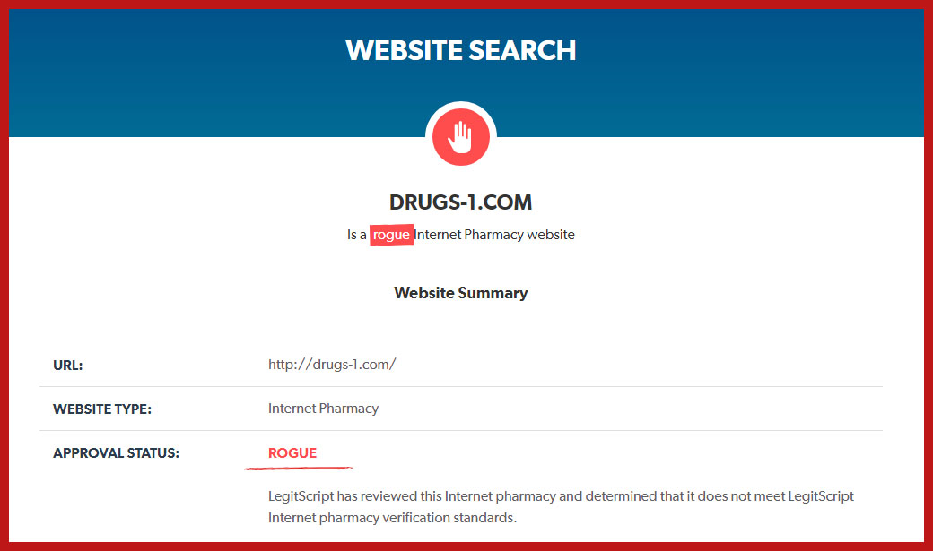 Drugs-1 com Reviews - Without Approvals - DrugstoreReviews
