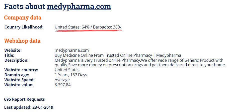 Medypharma com Reviews - Fake Testimonials? - DrugstoreReviews