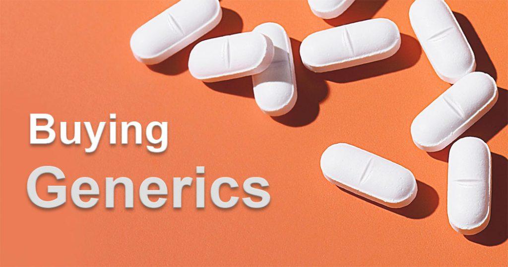 buying generics