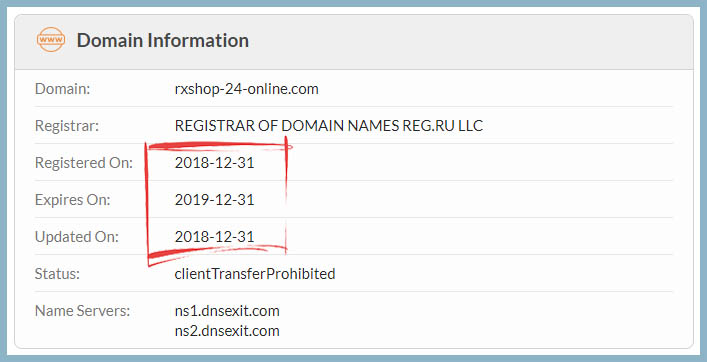 registered on 2018-12-31
