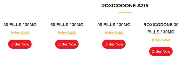 Roxicodone A215