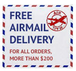 free airmail delivery