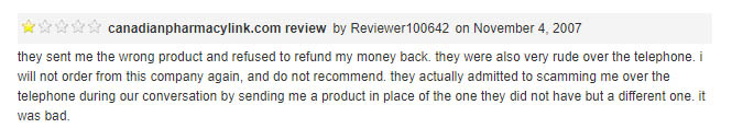 only one negative review