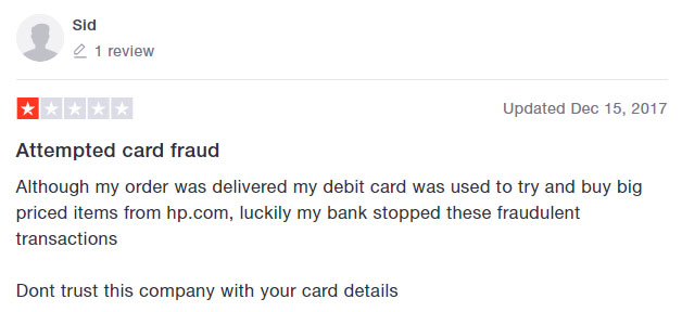 card fraud